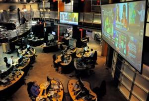 National Counterterrorism Center, en McLean, donde se analizan miles de datos por día online y se mantiene una vigilancia a los acontecimientos mundiales