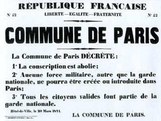 """El 21 de mayo del año 1871 «semana sangrienta» donde más de 100 mil soldados del ejército burgués invadieron el casco urbano de la ciudad de Paris. """"Si la Comuna […]"""